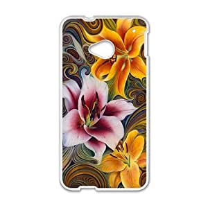S-T-R7087896 Phone Back Case Customized Art Print Design Hard Shell Protection HTC One M7