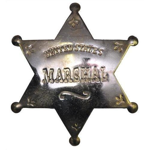 Great Western Badge Us Marshall ()