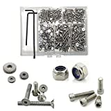 ☆ (250PCS) ◘ Popular Rc Car Repair Kit ◘ Stainless Steel ◘ T-Maxx & E-Maxx ☆