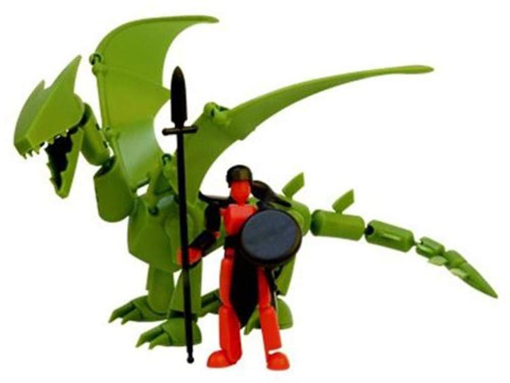 STiKFAS Beta Female Warrior /& Dragon AFK77D