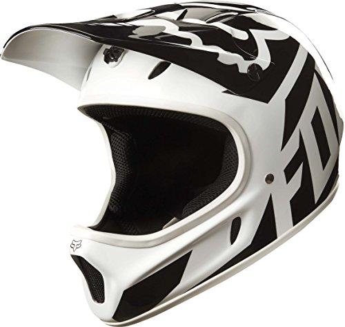 Fox Head Rampage Adult Full Face Bike Helmet (Race White/Black, M)