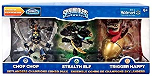 Skylanders Imaginators Champions Combo Pack (Chop Chop, Stealth Elf, and Trigger Happy)
