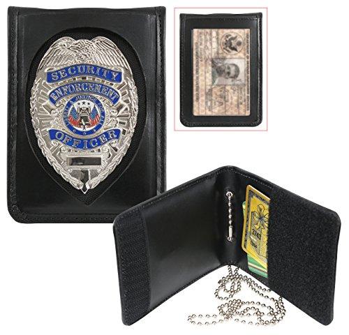 Rothco Leather Neck Identification Badge Holder ()
