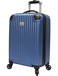Verdi Luggage Carry On 20 inch ABS Hard Case Rolling Suitcase With Spinner Wheels