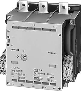 Siemens sirius - Contactor tamaño 14 3 polos ac-3 335kw 690v corriente continua 220v