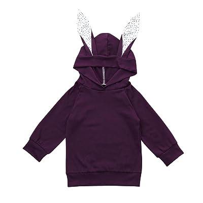 Baby Top,AutumnFall Kids Boy Girl Cartoon Ear Hoodies Sweatshirt Coat