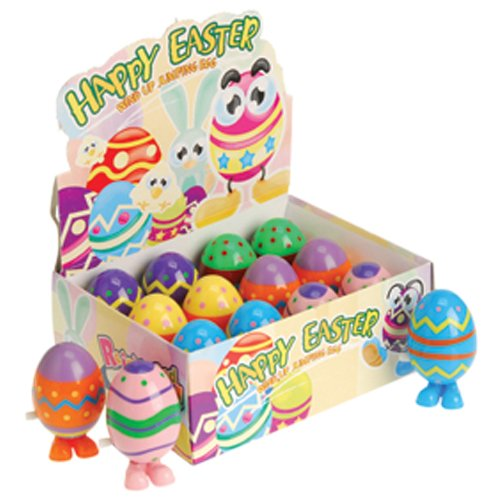 DollarItemDirect Wind up Easter Eggs, Sold by 4 Dozens