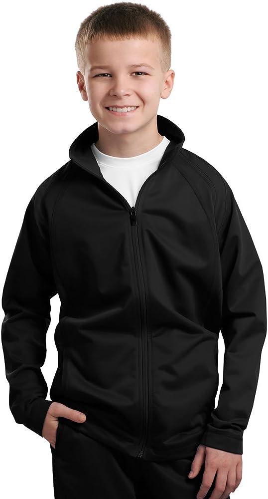 Sport-Tek/® Tricot Track Jacket Black//Black X-Small