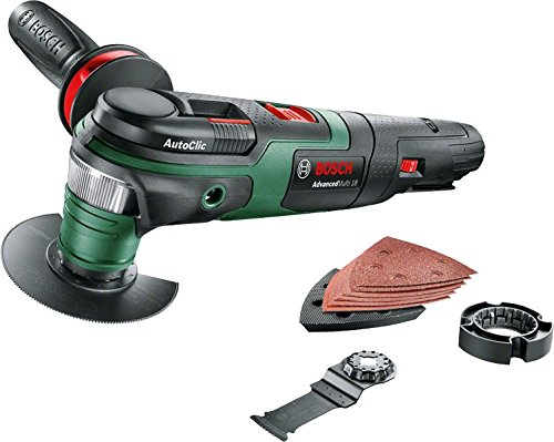Bosch 0603104000 AdvancedMulti 18 Outil multifonction sans fil technologie Syneon, Vert