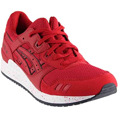 free shipping 4660b fce5f Amazon.com | ASICS Mens Gel-Lyte III Athletic & Sneakers Red ...