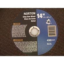Norton 14 In. Metal Abrasive Cut-off Blade 5 Pack