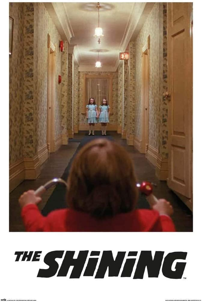 The Shining - Movie Poster (The Twins - Come Play with US) (Size: 24 x 36 inches)