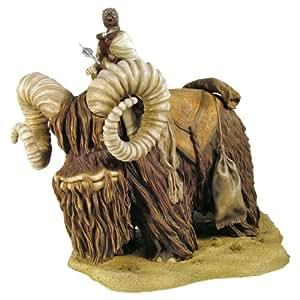 Gentle Giant - Figurine Star Wars - Statue Bantha & Tusken Raider 40cm - 0871810008100