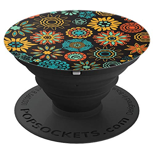- Wall Tapestry Lotus Mandala Pattern - PopSockets Grip and Stand for Phones and Tablets