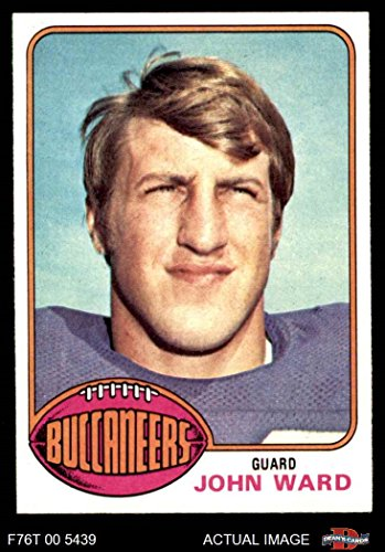 1976 Topps # 268 John Ward Tampa Bay Buccaneers (Football Card) Dean's Cards 8 - NM/MT Buccaneers