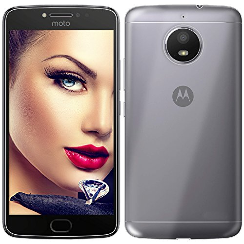 mtb more energy® Funda Clear & Slim para Motorola Moto E4 Plus (5.5) / Moto E Plus 4. Gen. (5.5) | transparente | flexible | delgada | Gel TPU Silicona Carcasa Suave Cascara