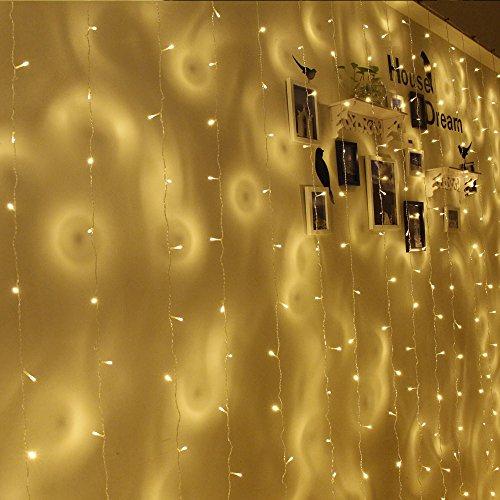 100 Led White Icicle Lights - 8