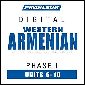Armenian (West) Phase 1, Unit 06-10 Audiobook