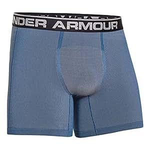 "Under Armour Men's UA Capital Seamless Series 6"" Boxerjock Small Midnight Navy"