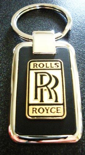Rolls Royce Black Onyx Key Chain