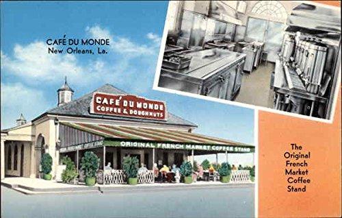 riginal French Market Coffee Stand New Orleans, Louisiana Original Vintage Postcard ()