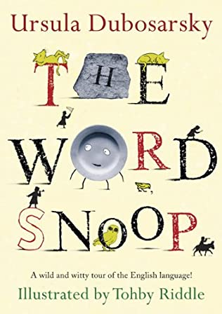 book cover of The Word Snoop