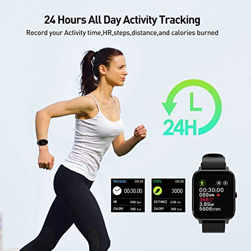 Smart Watch, Fitness Tracker with IP67 Waterproof, Heart Rate Monitor, Sleep Monitor, Smart Band, Step Counter,1.4 Inch… 1