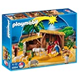 Playmobil Nativity Manger with Stable by PLAYMOBIL®