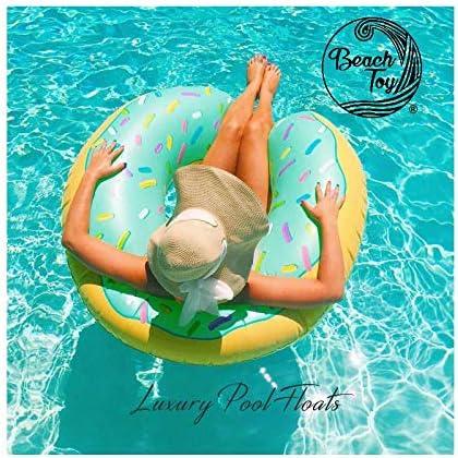 beachtoy flotador hinchable aros Donut azul playa/piscina 110 cm ...