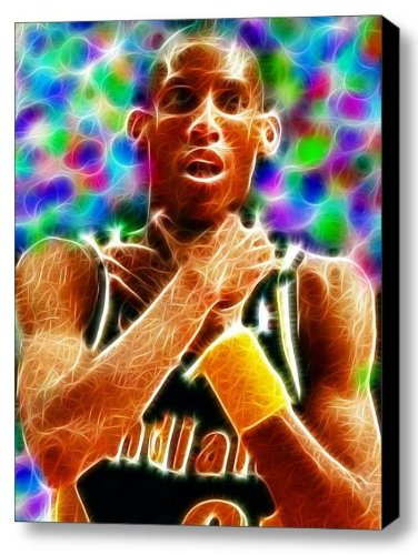 b1abcec477f8f Amazon.com  Framed Indiana Pacers Reggie Miller CHOKE Magical 9 X 11 Art  Print Limited Edition  Posters   Prints