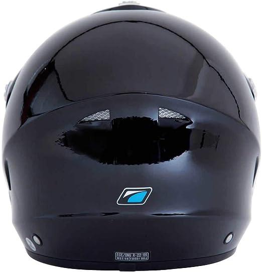 Black Matt SPADA EDGE TRIALS OPEN FACE MOTORCYCLE SCOOTER DUAL SPORTS ENDURO OFF ROAD HELMET MATT BLACK XS