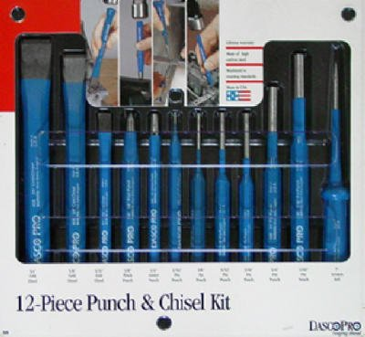 Dasco Pro 88 Punch/Chisel Set, 12-Pc. - Quantity 3