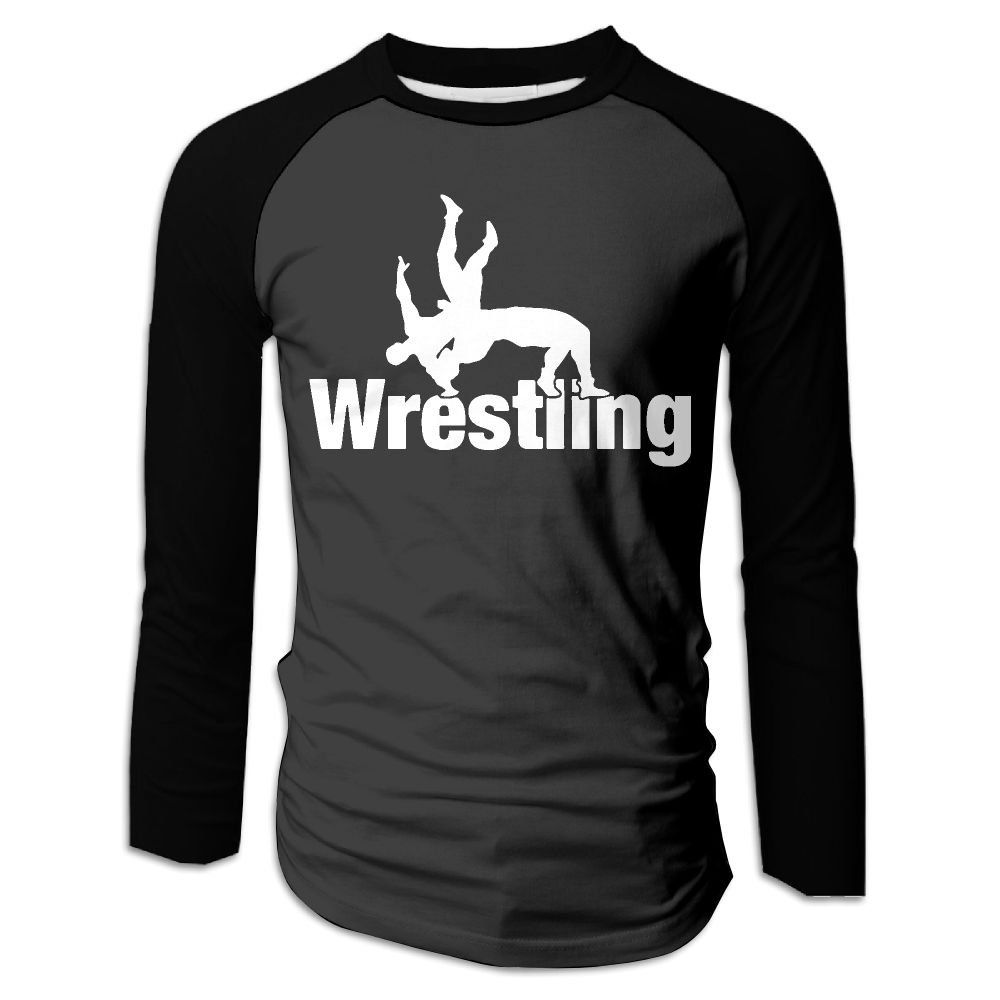 Men's Wrestling Clipart-1 Graphic Long-Sleeve T-Shirt by KMPLXm