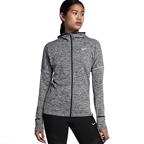NIKE Womens Thermal Dri-Fit Athletic Jacket Gray M