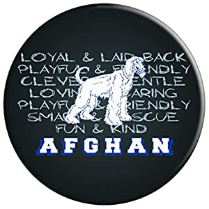Dogs Owner Afghan Hound Dog Breed Animal Gift Pop Socket - PopSockets Grip and Stand for Phones and Tablets
