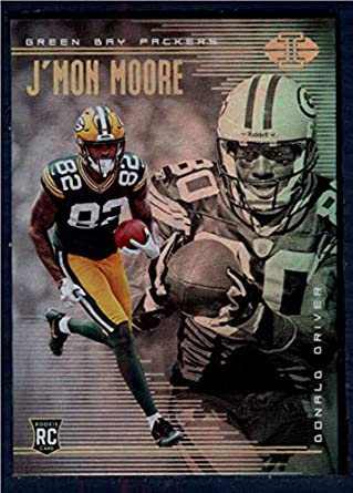 23ed947a1c0 Amazon.com: 2018 Panini Illusions Football #18 Donald Driver/J'Mon Moore Green  Bay Packers Rookie RC Official NFL Trading Card: Collectibles & Fine Art
