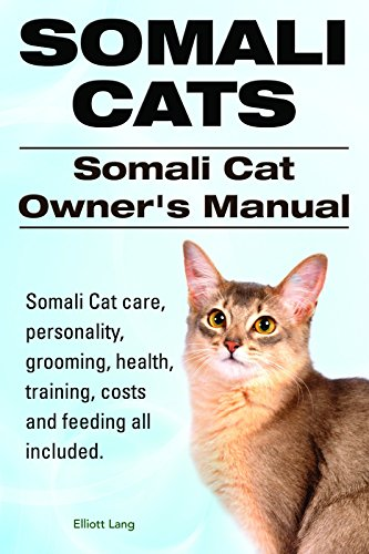 Somali Cats. Somali Cat care, personality, health, grooming, training, costs and feeding all included. Somali Cat Owners Manual.