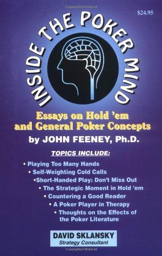 Tournament poker for advanced players by david sklansky pdf download