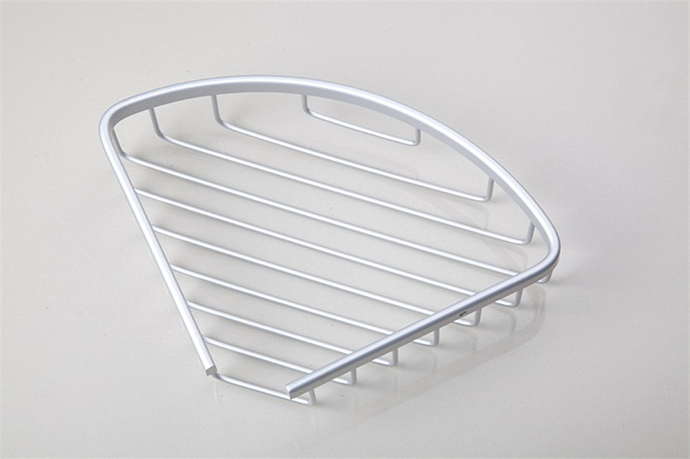 Joyoldelf Single Eck Dusche Caddy Ablage Korb Rack Badezimmer Organizer,  Space Aluminium Serie: Amazon.de: Küche U0026 Haushalt