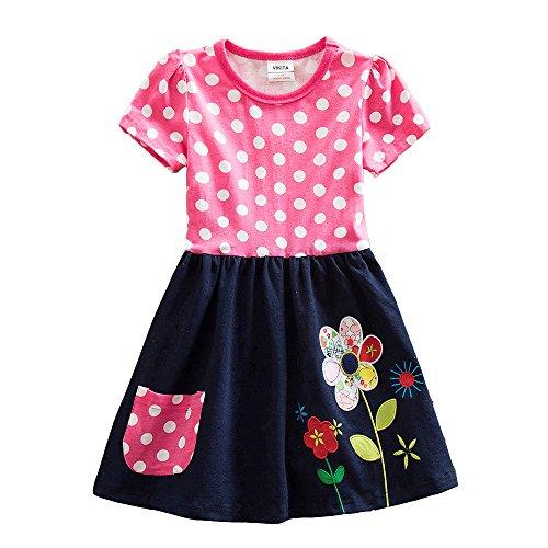 Pink Animal Print Dress - 3