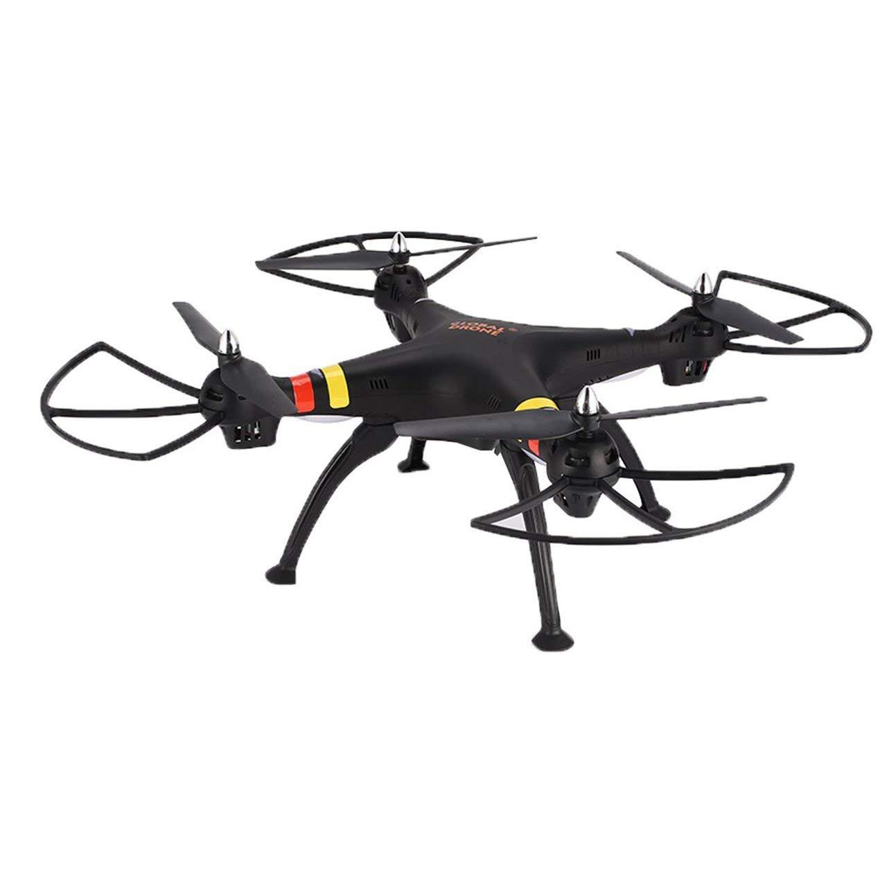 Jasnyfall GLOBAL Drone GW180 2.4G Smart RC Quadcopter Drohne mit 3D-Flips Headless-Modus - Schwarz