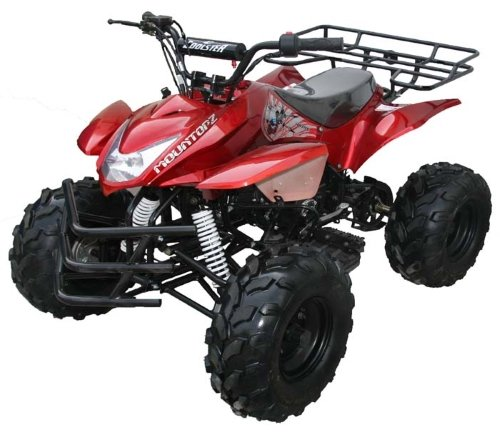 - 125cc ATV 4 Stroke Single Cyclinder Fully Automatic Mid Size Sport w/ Remote Kill - ATV-3125A - 4-Stroke Air-Cooled By SaferWholesale