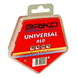 Briko-Maplus Universal Red Ski and Snowboard Wax