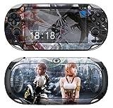 Sony PS Vita FINAL FANTASY Vinyl Protective Skin Decal Set, Best Gadgets