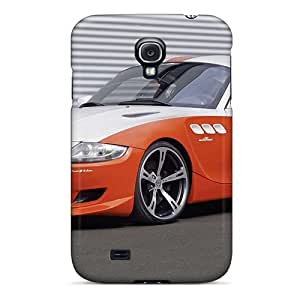 New Fashionable Moddcasess CGl5089XvgS Covers Cases Specially Made For Galaxy S4(orange Bmw Z4)