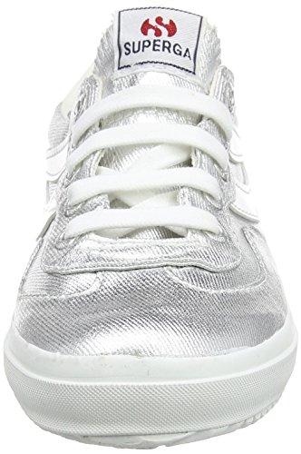 Superga Unisex-Erwachsene 2832 Cotmetu Low-Top Silber (031)