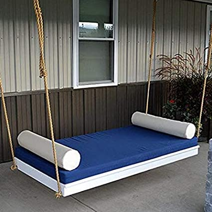 AD Planet Wooden Rest Bed Swing, 66x36 Inches (Multicolour, swing15)