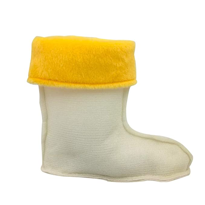 BAIYOU Calcetines de Tobillo del Trazador de líneas de Bolsillo del Algodón del Cachemira de los Niños Para las Botas de Lluvia, Amarillo: Amazon.es: Ropa y ...