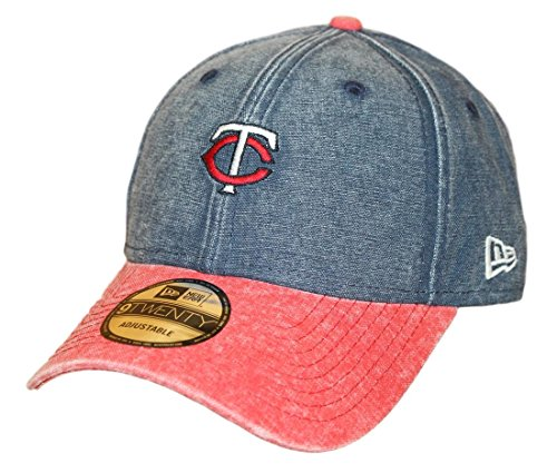 (New Era Minnesota Twins 9Twenty MLB Rugged Canvas Adjustable Hat)