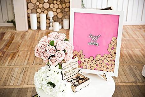 Amazon.com: Sweet 16 libro de invitados dulces dieciséis ...
